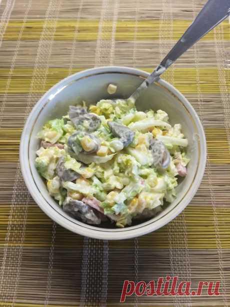 Салат с колбасой - вкусные рецепты салатиков