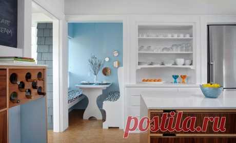 Уютные кухонные уголки