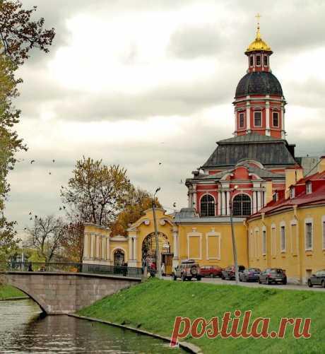 Благовещенская церковь Александро-Невской лавры. г.Санкт-Петербург