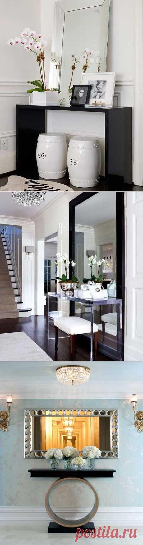 Консольный столик в интерьере | Интерьер и Дизайн