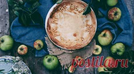 Яблочный пирог со специями от простуды