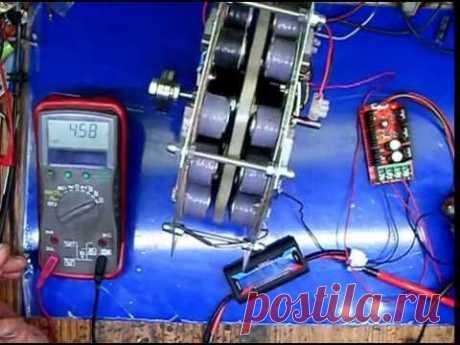 Колесо мотор-генератор-контроллер и вариатор в одном корпусе ч14