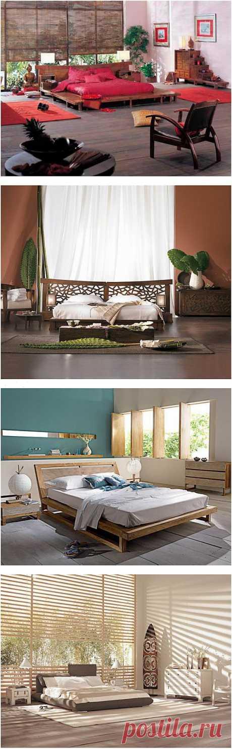 4 спальни в индонезийском стиле