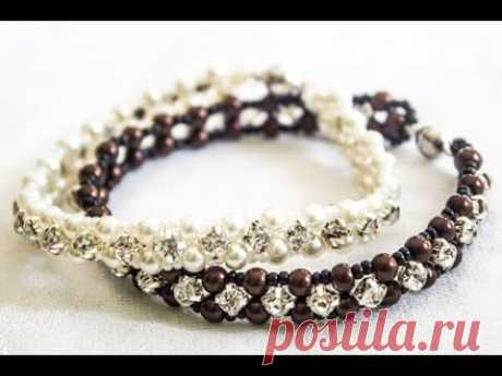 Bracelet with pastes