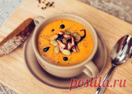 (12) Тыквенный крем-суп - пошаговый рецепт с фото. Автор рецепта Жанна . - Cookpad