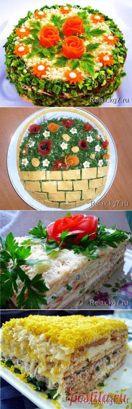 Мясной торт - вкусное лакомство.