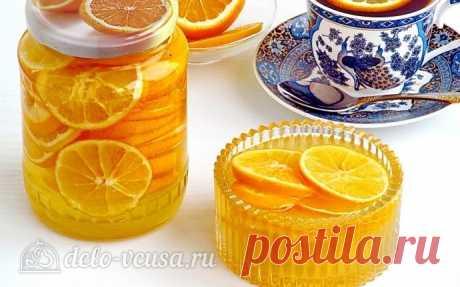 Лимон с сахаром в банке, пошаговый рецепт с фото