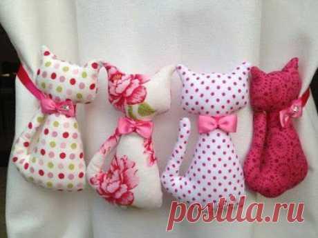 4 Moldes para hacer hermosos muñecos de gatitos ~ Solountip.com