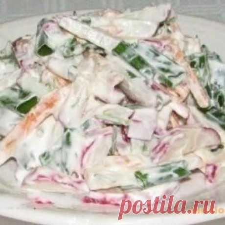Удмуртский салат - рецепт с фото