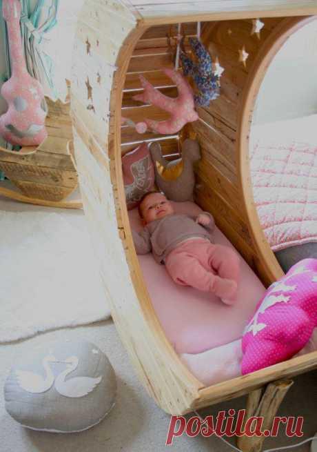 Милая люлька для младенца