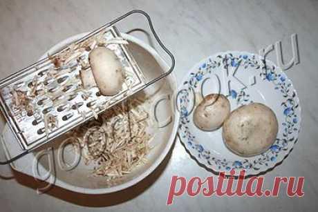 оладьи из риса с грибами, рецепт приготовления