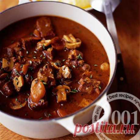 Рецепт тушеной телятины с корицей и яблоками - Горячие блюда от 1001 ЕДА
