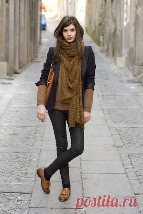Красиво завязала / Street Style / Модный сайт о стильной переделке одежды и интерьера
