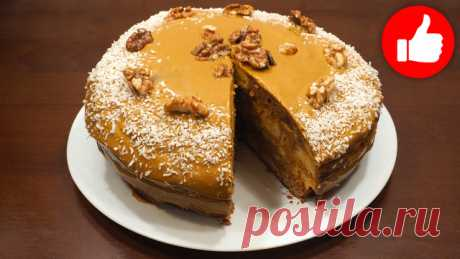 Торт с халвой – пошаговый рецепт с фотографиями