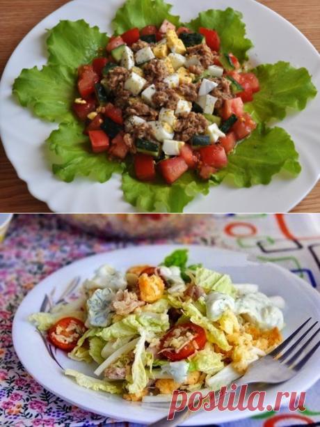 5 правильных салатиков, которые можно кушать даже на ночь!