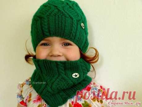 Вязаная шапочка и снуд для малышей / Вязание как искусство!
