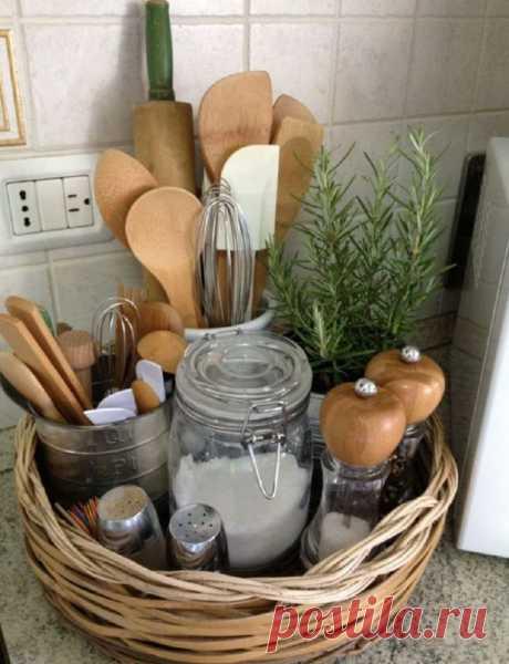 Моя кухня — моя радость! 10 практичных советов, которые помогут навести идеальный порядок.