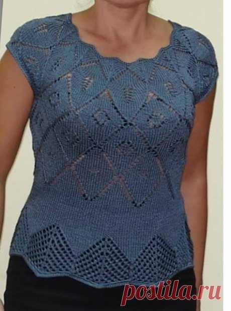Роскошная кофточка Larimix (Вязание спицами) | Журнал Вдохновение Рукодельницы