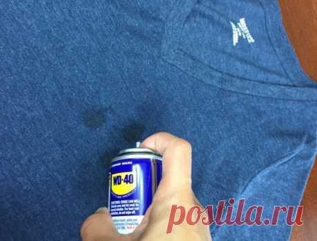 Как удалить жирные пятна с ткани — Полезные советы