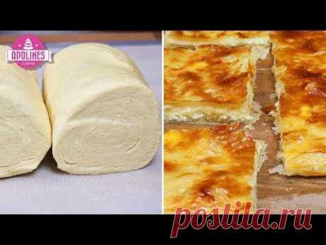 Полуслойное тесто, полуслойное хачапури - Xachapuri Naxevrad Fenovani Comit