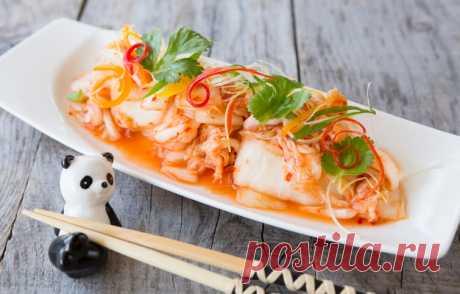 Как вкусно приготовить остро приправленные квашеные овощи по-корейски (кимчи)