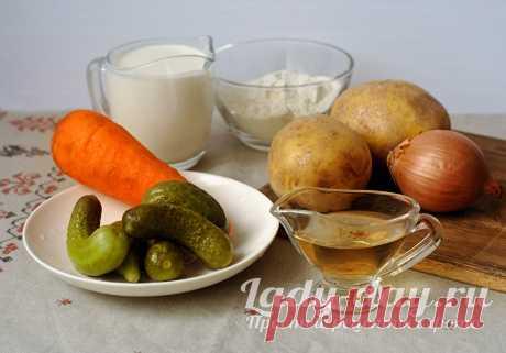 Суп с солеными огурцами, рецепт с фото | Простые рецепты с фото