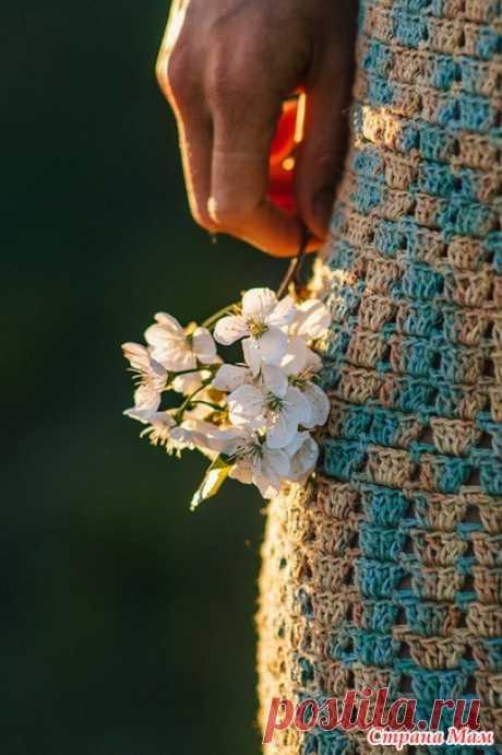 К лету 2020. Платье крючком - Вязание - Страна Мам
