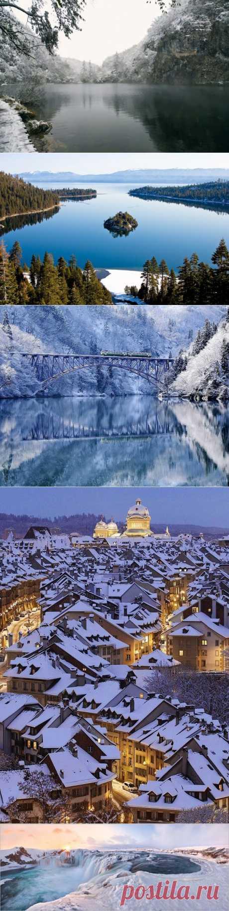Места, которые еще красивее зимой : НОВОСТИ В ФОТОГРАФИЯХ