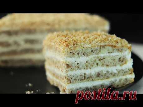 Простой домашний сметанный торт - очень вкусный!   Кулинарка   Яндекс Дзен