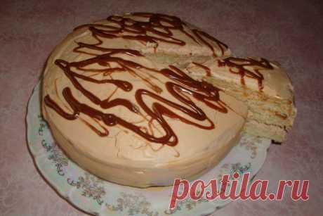 Торт «Молочная Девочка» на сгущенке - Женская страница