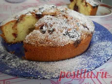 Венский пирог с вишней. Рецепт