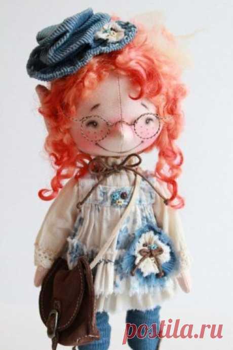 Очаровательные позитивные куколки — Делаем руками