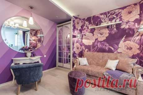 Combination of wall-paper: 70 modern options and photoexamples of decoration of the walls