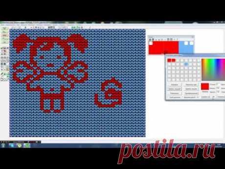 .  Как удалить лишний цвет в DesignaKnit - Машинное вязание - Страна Мам Очень многие мучаются таким вопросом. Но мы знаем как. Давайте посмотрим видео. Источник: https://www.stranamam.ru/post/12238457/