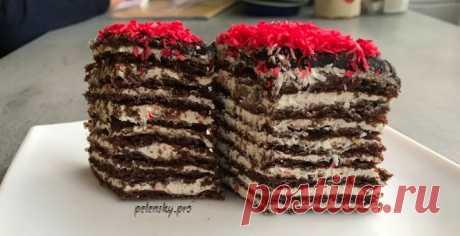 """Торт-пляцок """"Спартак"""", скільки різної випічки не готую, але цей мій улюблений тортик. – Прості рецепти"""