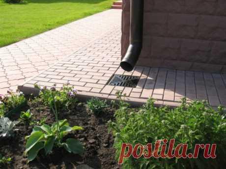 Ливневая канализация дома: от А до Я - Темы недели - Журнал - FORUMHOUSE