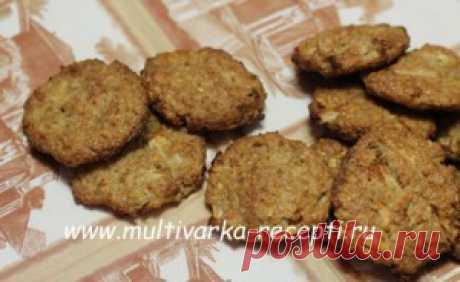 Диетическое печенье из овсяных хлопьев