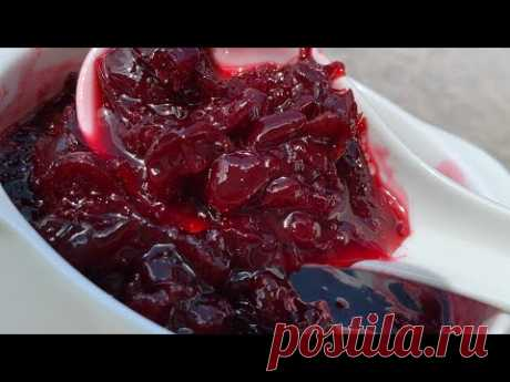 Королевский конфитюр из вишни (шпанки). Ооочень  вкусный рецепт !