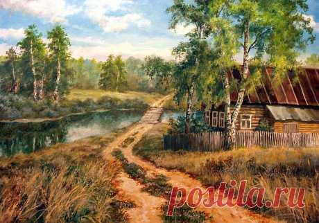 Осень в живописи Виктора Андреева