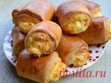 Вкуснейшие пирожки из домашнего слоеного теста: рецепт из маминой тетрадки   Мама Люба   Яндекс Дзен