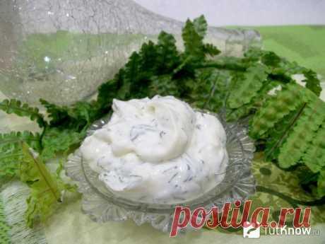 Йогуртовый чесночный соус: пошаговый рецепт