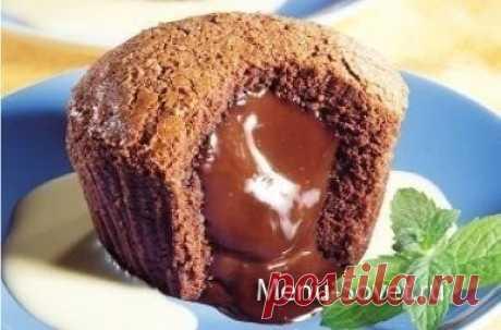 Как приготовить фондан шоколадный