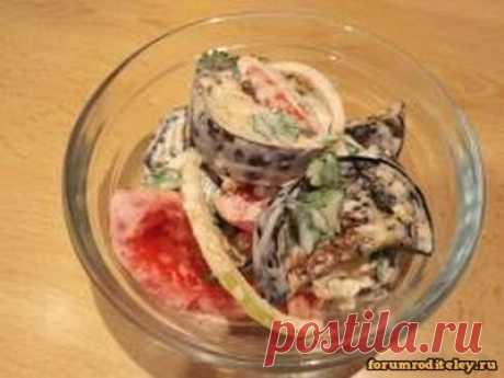 Салат с томатами и баклажанами :: социальная сеть родителей https://forumroditeley.ru/viewtopic.php?t=7824