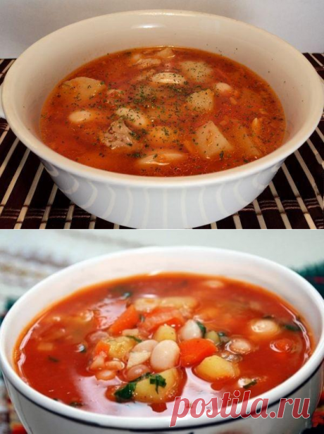 Быстрый томатно-фасолевый супчик за 30 минут: кулинарный шедевр без особых навыков - be1issimo.ru