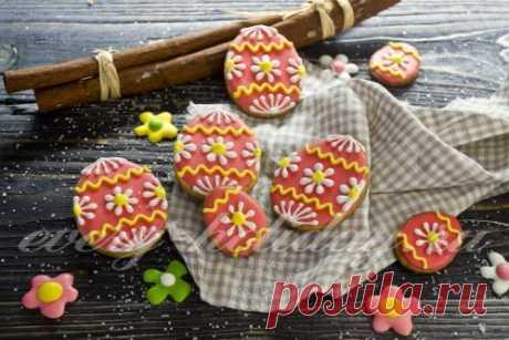 Пасхальное печенье, пошаговый рецепт с фото