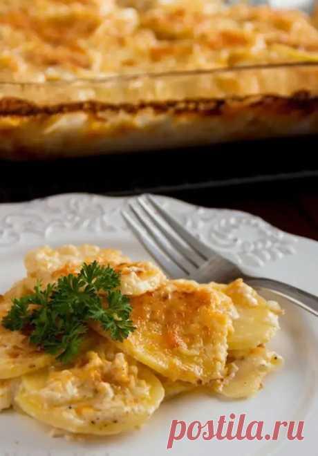 Картофель, запеченный с сыром. - Хозяин и Хозяюшка - медиаплатформа МирТесен
