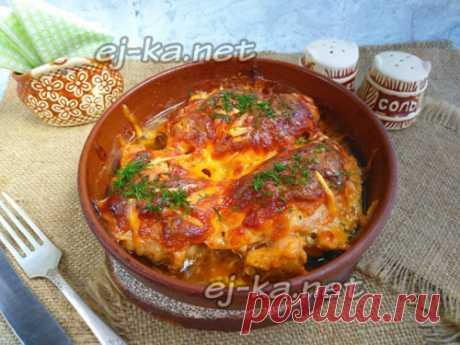 Куриные бедра в сметане в духовке: рецепт с фото пошагово
