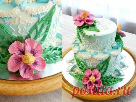 """УКРАШЕНИЕ ТОРТОВ, Торт """"ГРАЦИЯ"""" от SWEET BEAUTY СЛАДКАЯ КРАСОТА, Cake Decoration"""