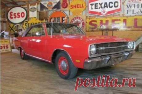 Dodge Dart Swinger 1969 года: гаражное хранение . Тут забавно !!!