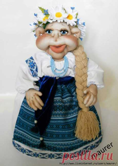 Новенька лялька-грілка
